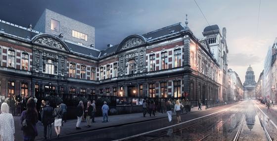 Restauratie van het Koninklijk Conservatorium Brussel