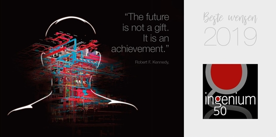 The future is not a gift. It is an achievement.