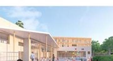 Duurzame school in Neder-over-Heembeek