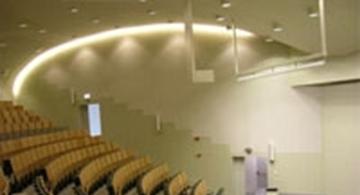 Auditorium + studentenrestaurant - UGent, Coupure links