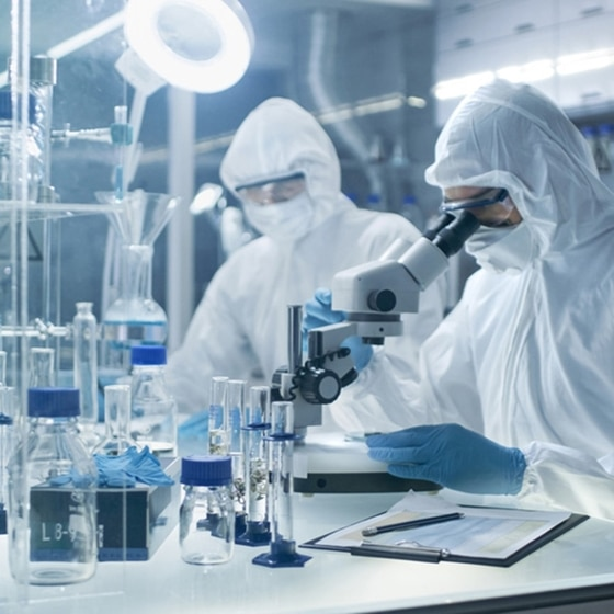 Biotech, labo & cleanroom