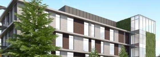 Nieuw, duurzaam kantoorgebouw voor Stadsbader