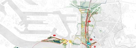 Antwerpen wil de overkapping van de ring inzetten om CO2 neutraal te zijn tegen 2050