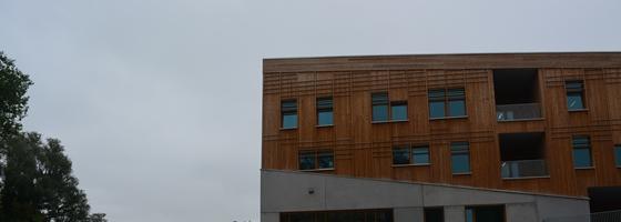 Une école passive de laeken garde la tête froide durant la canicule