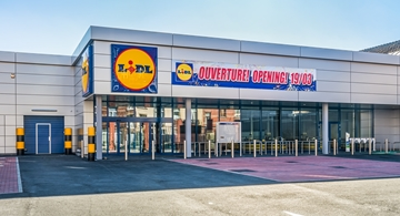 Lidl  Ixelles - a CO2 neutral store