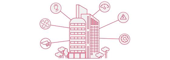 Gebouwbeheersysteem is cruciaal in smart building en smart city