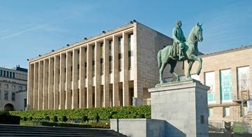 Koninklijke bibliotheek van België - Tentoonstellingszalen